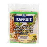Polpa Abacaxi com Hortelã Icefruit Pacote 10 Unidades 100g Cada