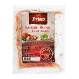 Lombo Suíno Temperado Resfriado Prieto Pacote Aprox. 1kg
