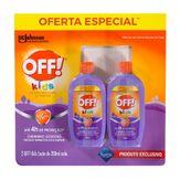 Repelente de Insetos OFF! Kids Pack 2 Unidades 200ml Cada
