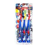 Escova Dental Superman Jadefrog Cartela Pack com 3 Unidades