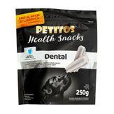 Pestisco para Cães Dental Health Snacks Menta Petitos Sachê 250g