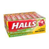 Bala Halls Melancia Pack com 21 Unidades