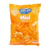 Bala Recheada de Mel Arcor Pacote 600g