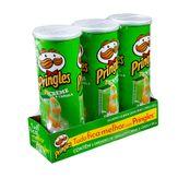 Batata Pringles Creme e Cebola Pack com 3 Unidades 120g Cada