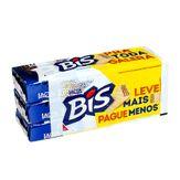 Chocolate Branco Bis Lacta Pack com 3 Unidades
