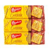 Cream Cracker Levíssimo Bauducco Pack com 3 Unidades 200g Cada
