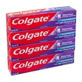 Creme Dental Máxima Proteção Anticáries Colgate Pack com 4 Unidades 70g Cada