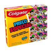 Gel Dental Infantil Teen Titans Colgate Pack com 4 Unidades 60g Cada