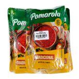 Molho de Tomate Pomarola Tradicional Pack com 3 Unidades 340g Cada