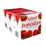 Polpa de Tomate Pomodoro Pack com 3 Unidades 520g Cada