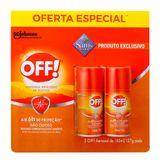 OFF Aerossol Repelente de Insetos Pack com 2 Unidades 165ml Cada