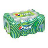 Pepsi Twist com Suco de Limão Pack com 12 Unidades 350ml Cada