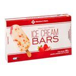 Picole-de-Morango-com-Chocolate-Branco-Ice-Cream-Bars-Member-s-Mark-Pack-com-4-Unidades-74g-Cada