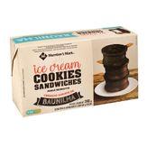 Ice Cream Cookies Sandwiches Picolé Recheatto Member's Mark Pack com 6 Unidades 66g Cada