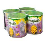 Milho ao Natural Bonduelle Pack com 4 Unidades 200gr Cada