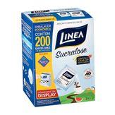 Adoçante em Pó Linea Sucralose Caixa com 200 Envelopes 800mg Cada