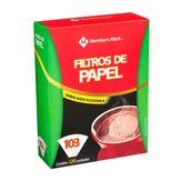 Filtro de Papel 103 Member's Mark Caixa com 120 Unidades