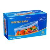 Saco para Freezer Bags Member's Mark com 50 Unidades 17.7 X 19.5cm