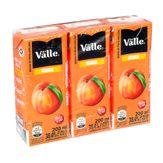 Suco Del Valle Nutri Sabor Pêssego Pack com 3 Unidades 200ml Cada