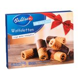 Biscoito Bahlsen Waffeletten Milk Pack com 2 Unidades 100g Cada