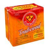 Café Torrado e Moído Tradicional Três Corações Pack com 4 Unidades 500g Cada