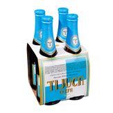 Cerveja Pilsen Premium Tijuca Cerpa Pack com 4 Unidades 350ml Cada