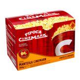 Popcorn Manteiga Cinemark Pack 360g com 3 Unidades