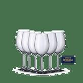 Conjunto 6 Taças Para Vinho Bohemia 580 ml