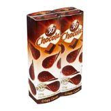 Chips de Chocolate Meio Amargo Chocola's Pack com 2 Unidades 125g Cada