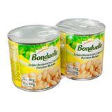 Feijão Branco em Conserva Bonduelle Pack com 2 Unidades 400 Cada