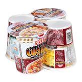 Cup Noodles Costela com Molho Churrasco Nissin Pack com 4 Unidades 69g Cada