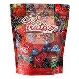 Mix de Frutas Vermelhas Congeladas Prático Pacote 400g