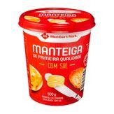 Manteiga Com Sal Member's Mark Pote 500g