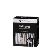 Conjunto de Talheres Descartáveis Member's Mark Premium Caixa 72 Unidades