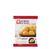 Pão de Queijo Congelado Gourmet Forno de Minas Pacote 1kg