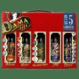 Kit Cervejas Pilsen + Weiss + American Lager + Ipa + Stout Dama Bier com 5 Unidades 355ml Cada