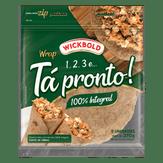 Pão Tortilha Integral Wrap Wickbold Pouch 270g
