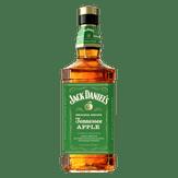 Whiskey Jenessee Apple Jack Daniel's Garrafa Garrafa 1l