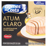 Atum Sólido Claro em Azeite de Oliva Gomes da Costa Caixa 170g