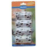 Saquinhos Higiênicos para Pet 24x32cm Chalesco Pack com 4 Unidades