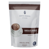 Mistura para o Preparo de Chocolate Europeu Santa Mônica Pacote 1kg