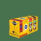 Alimento para Cães Adultos Raças Pequenas Sabor Carne e Cordeiro ao Molho Pedigree Pack com 18 Unidades 100g Cada