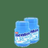 Goma de Mascar Pure Fresh Mentos Pack com 2 Unidades 56g Cada