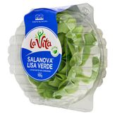Alface Lisa Verde Salanova La Vita Bandeja 100g