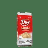 Biscoito Salgado Importado Original Salted Dux Pacote com 9 Unidades 216g