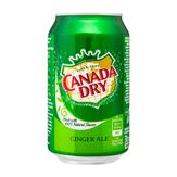 Refrigerante Importado Ginger Ale Canada Dry Lata 330ml