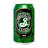 Cerveja Hoppy Amber Lager Brooklyn Lata 350ml