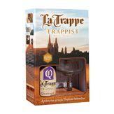 Kit Cerveja Quadrupel La Trappe Trappist com 1 Garrafa 750ml + Taça