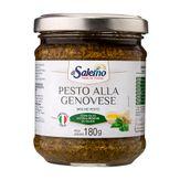 Molho Pesto Alla Genovese Di Salerno Vidro 180g