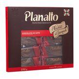 Chocolate Ao Leite Planalto Caixa 10 Unidades 230g